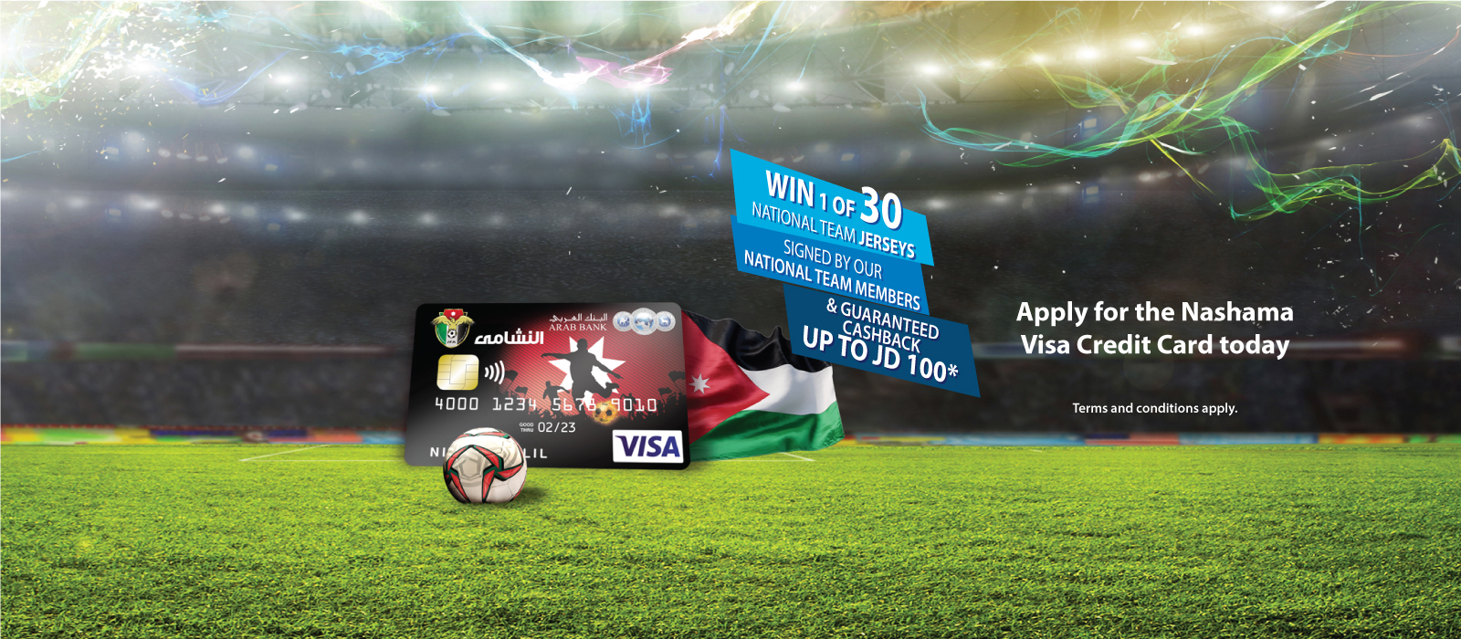 Nshama Visa Credit Card main banner